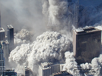 World Trade Center 9/11 Aerial Photos