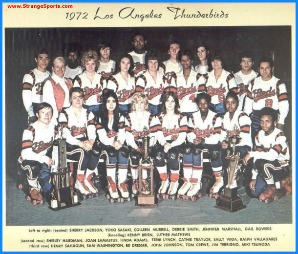 1972 Los Angeles Thunderbirds - Coed