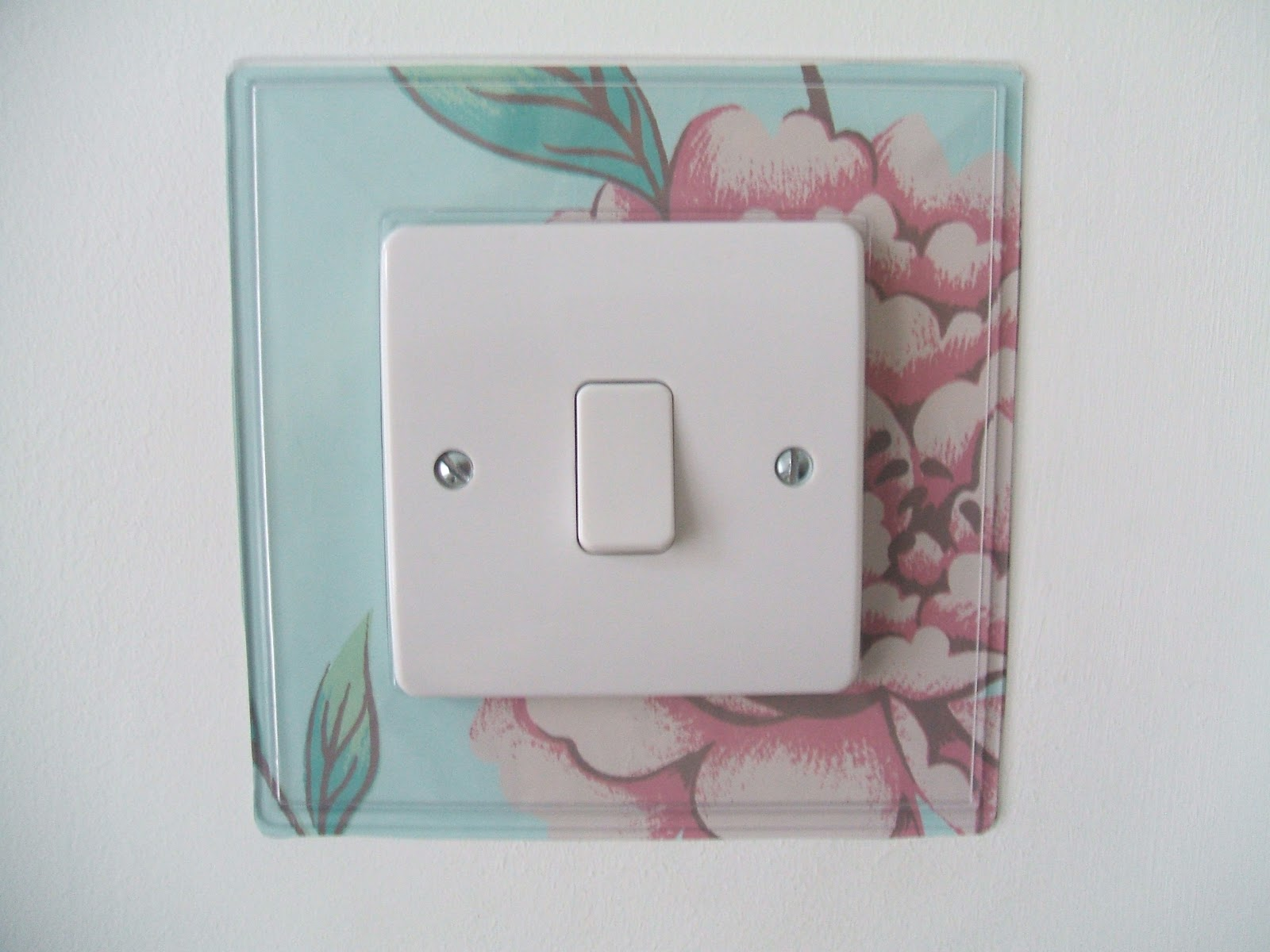 Stitch And Bake: DIY Light Switch Finger Plates