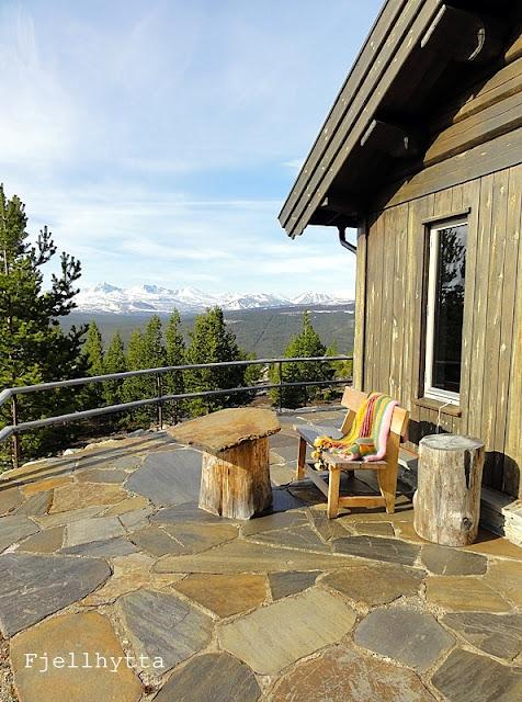Fjellhytta interior og hytteblogg Utekos med Rondane midt i fleisen