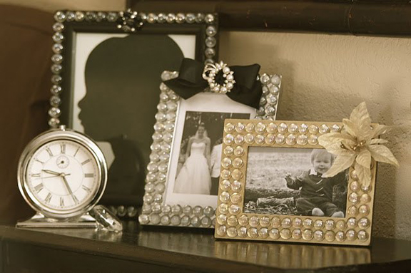how to decorate a photo frame