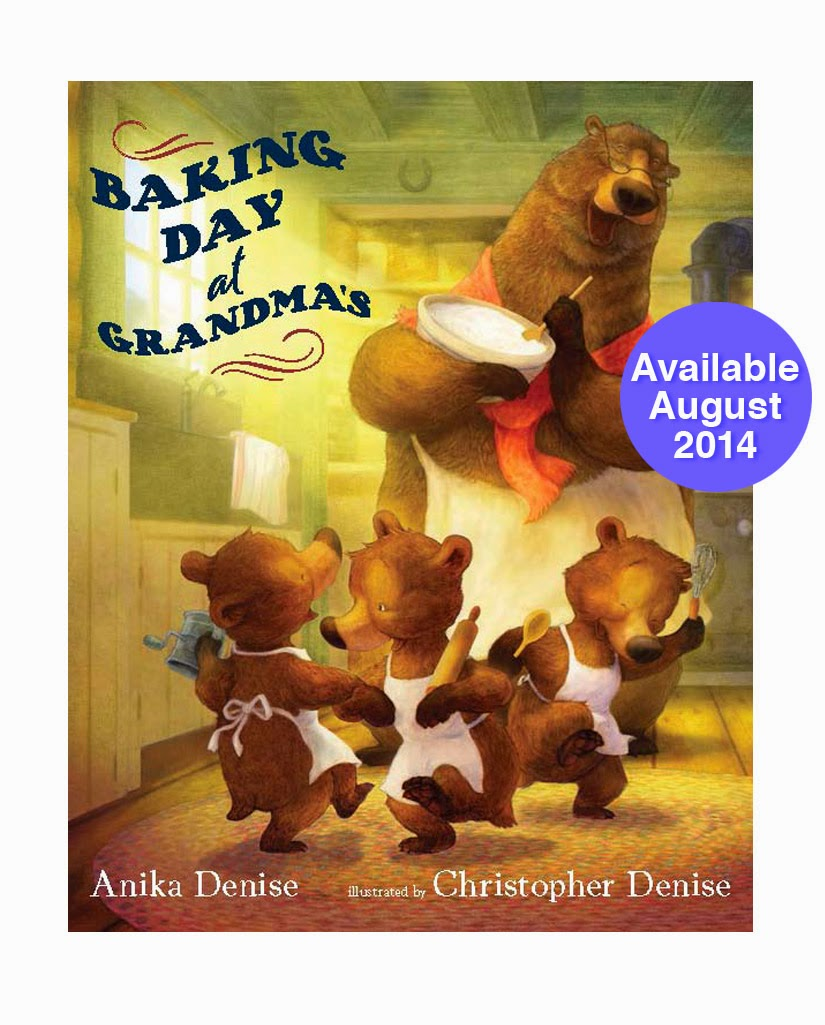 NEW BOOK! Baking Day at Grandma's