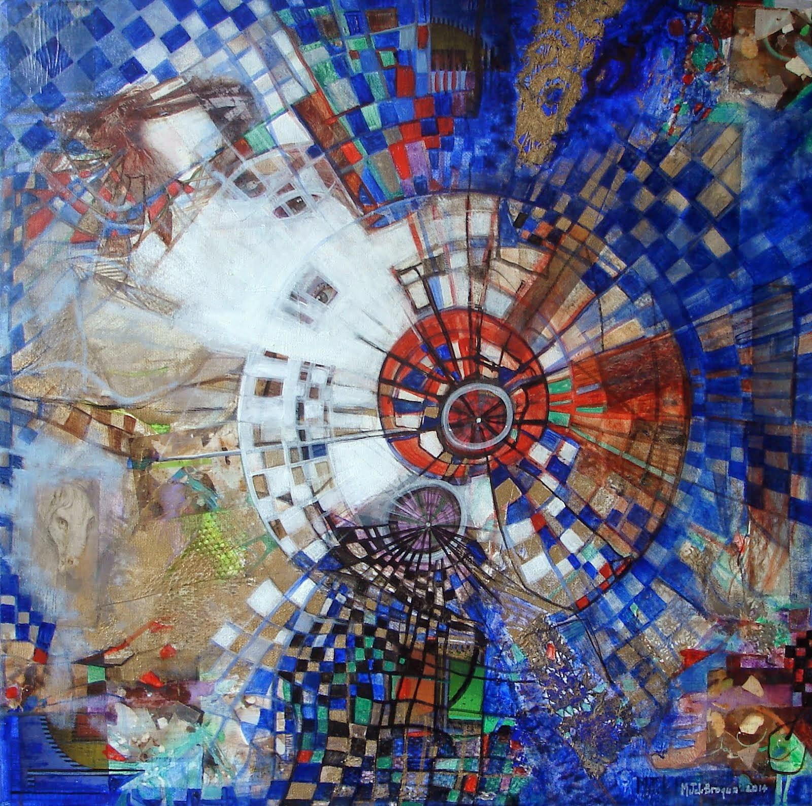 L'amour bleu - 50 x 50 cm - 2014