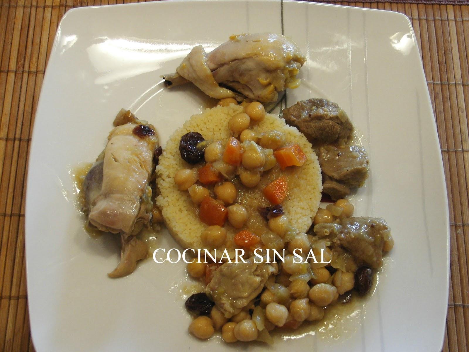 Cocinar sin sal couscous marroqui sin sal - Cocinar sin sal ...