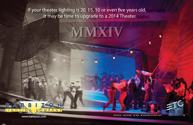 Upgrade Your ETC Lighting System to the 2014 Theater