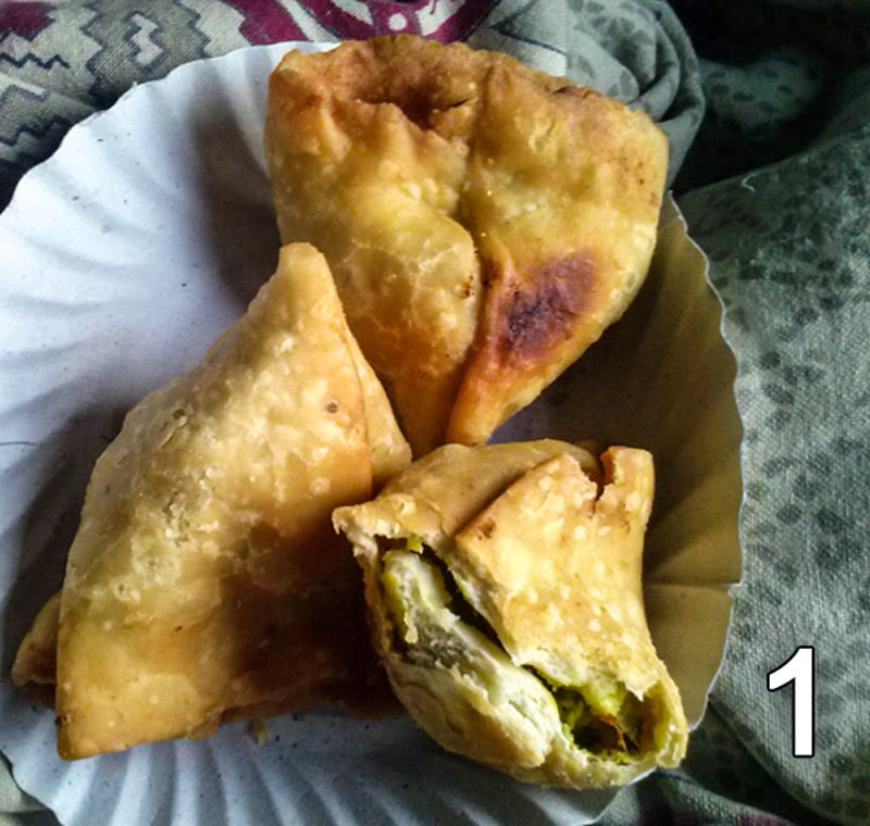 Hot Samosa at Raigarh