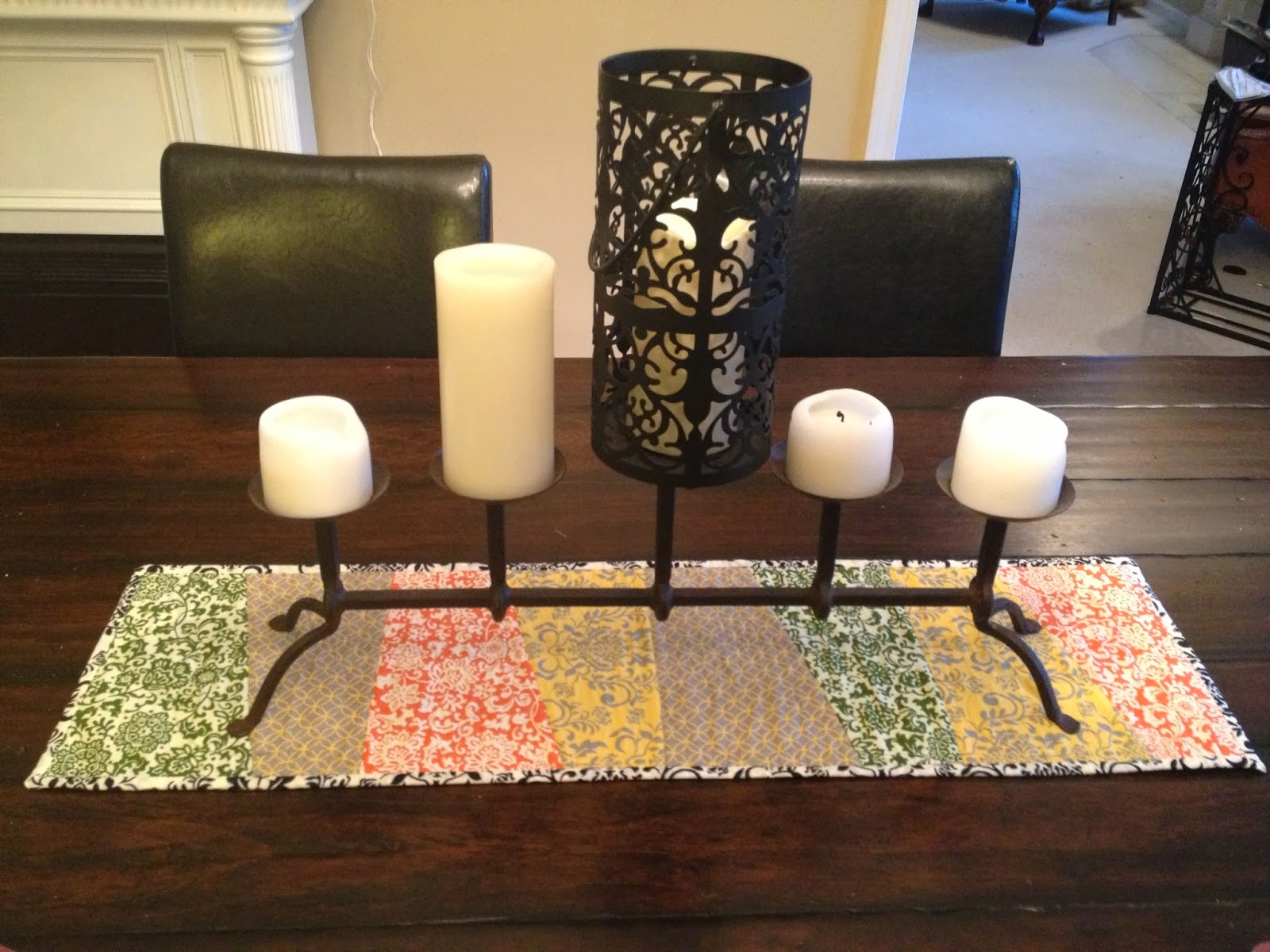 Roonie Ranching Fall Stack Slash Table Runner For Ivette