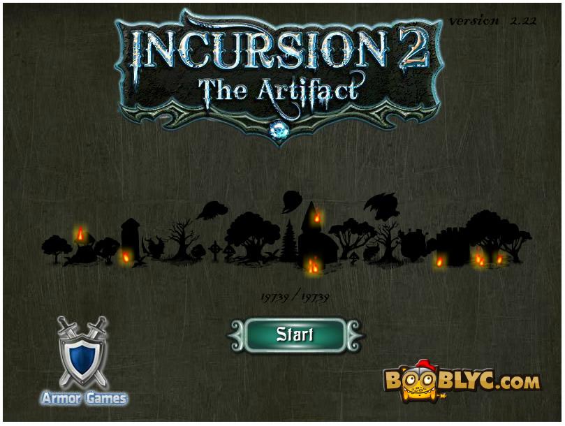 Armor Game : Incursion 2 The Artifact
