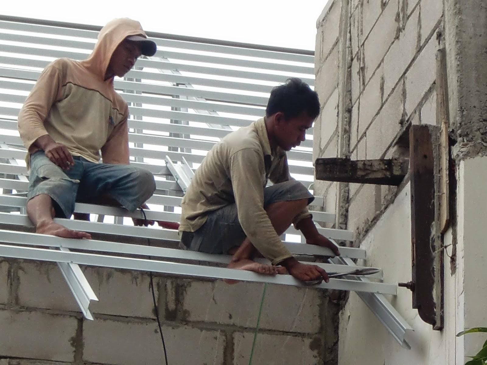 Pengerjaan Baja Ringan di Bumi Sarinah Pancoran Jakarta Selatan