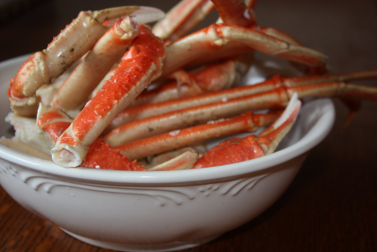 steamed crablegs mostly homemade mom