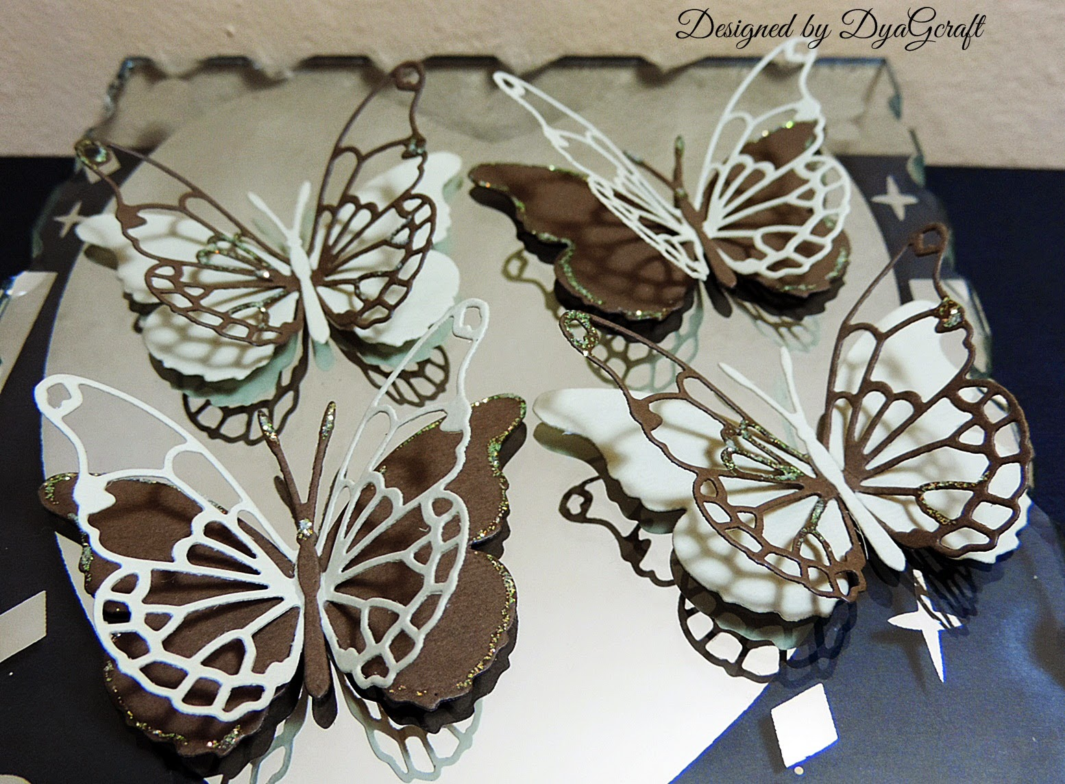 Darla butterfly chocolate