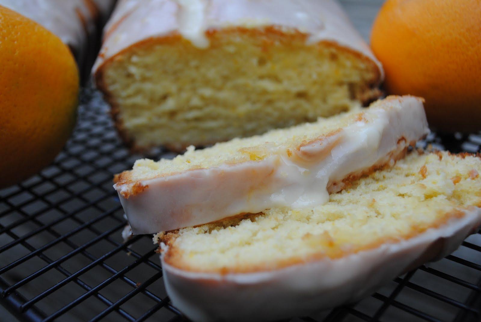 Orange Bread - Shugary Sweets