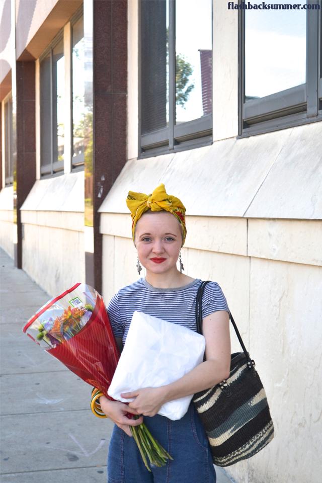 Flashback Summer: Birthday Errands - 1940s casual fashion