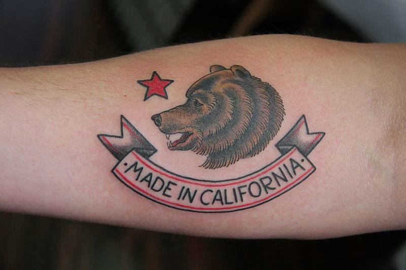 top cali bear logo images for pinterest tattoos. Black Bedroom Furniture Sets. Home Design Ideas
