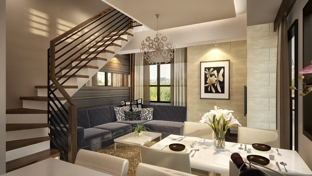 Mabolo garden flats condo cebu cebu homes for sale for Example interior design for small condo unit