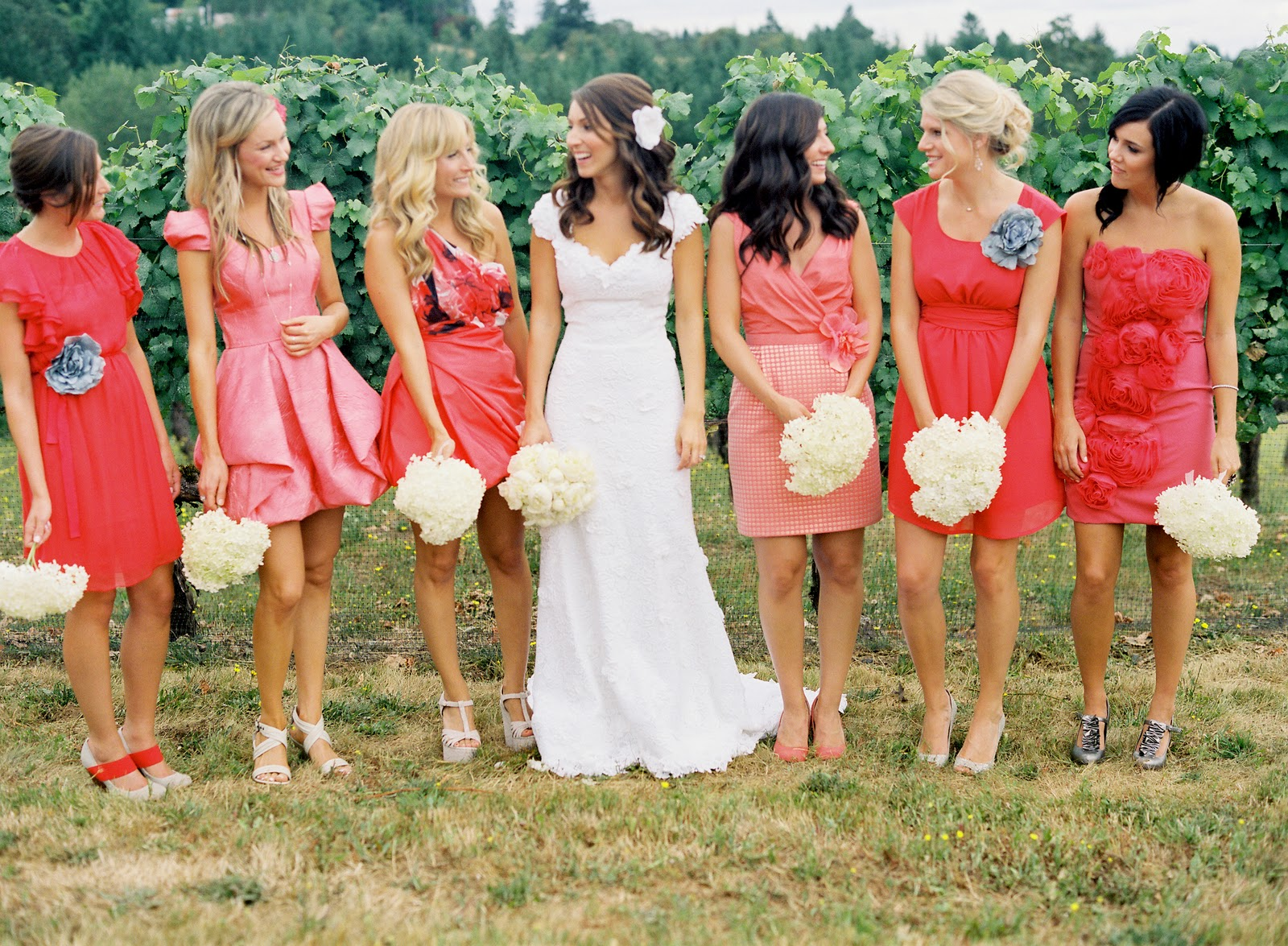 Coolingerie how to make a perfect work of mismatched bridesmaid how to make a perfect work of mismatched bridesmaid dresses ombrellifo Choice Image