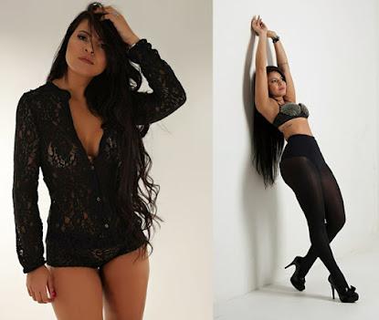 Modelo paranaense é mãe de 3 filhos e mostra corpo perfeito em fotos sensuais