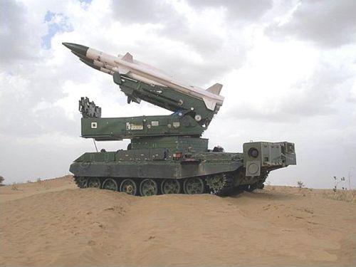 Rudal jarak menengah angkatan darat India