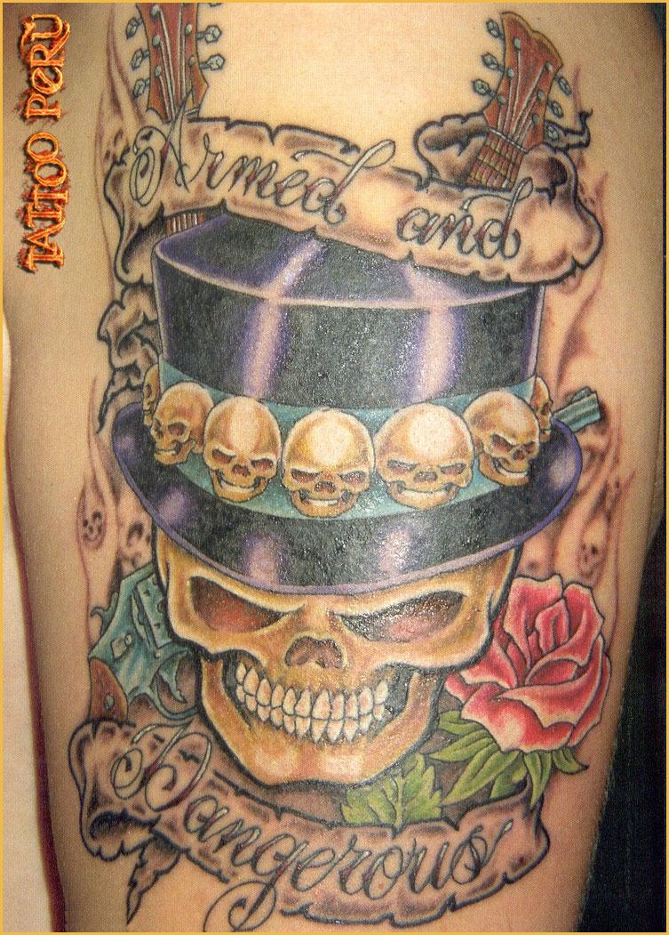 ¿En que parte del Cuerpo se puede Tatuar?. 01_calaveras_y_rosas