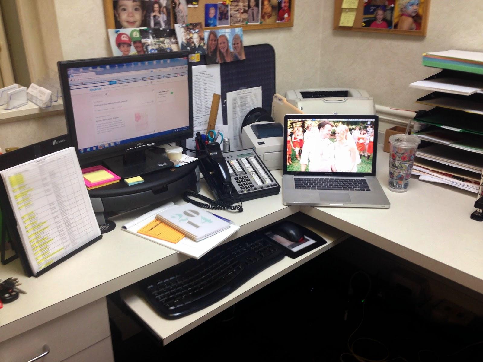 pretend office