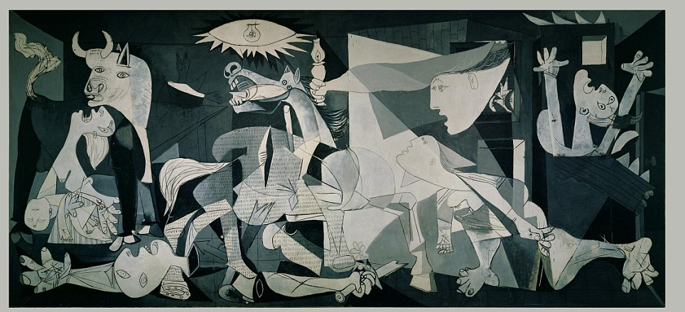 Ternyata Pablo Picasso Melukis dengan Cat Rumah Saja