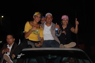 Jóvenes del PRD desarrollan con rotundo éxito caravana en DN