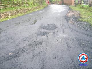 Disorot, Pengaspalan di 16 Titik Ruas Jalan Kabupaten Dompu