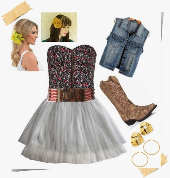 Things to Wear Cowboy Boots With