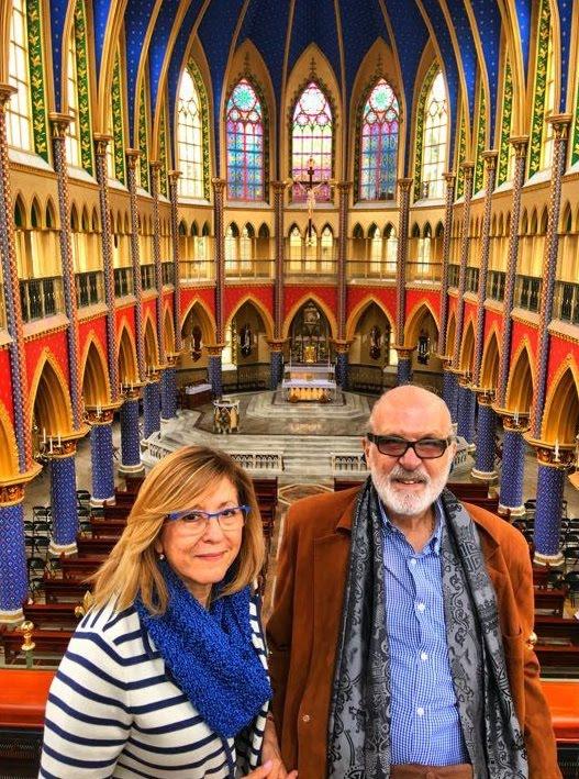 En el Templo de los Heraldos del Evangelio
