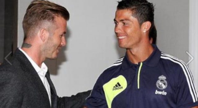 David beckham visited beverly hills hotel the legend cristiano former real madrid player david beckham visited beverly hills hotel to meet and greet all real madrid team david who played played for madrid in 2003 m4hsunfo