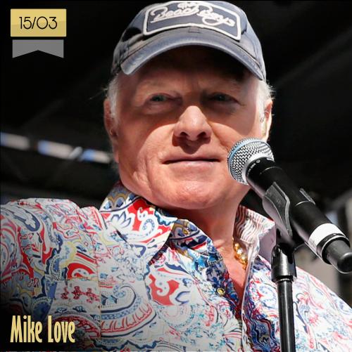 15 de marzo | Mike Love - @TheBeachBoys | Info + vídeos