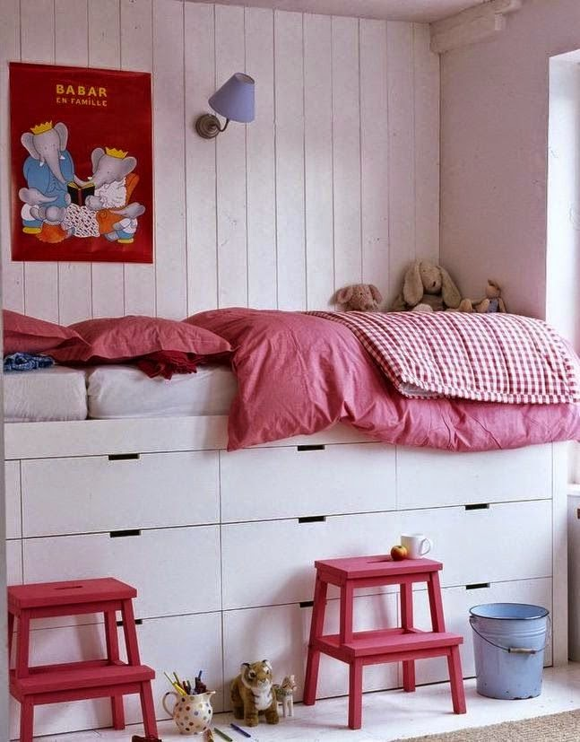 camas altas almacenaje cajones