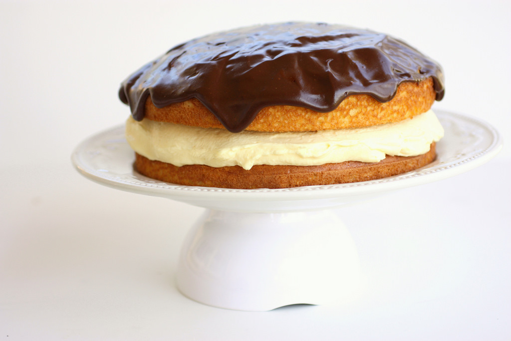 The classic Boston Cream Pie