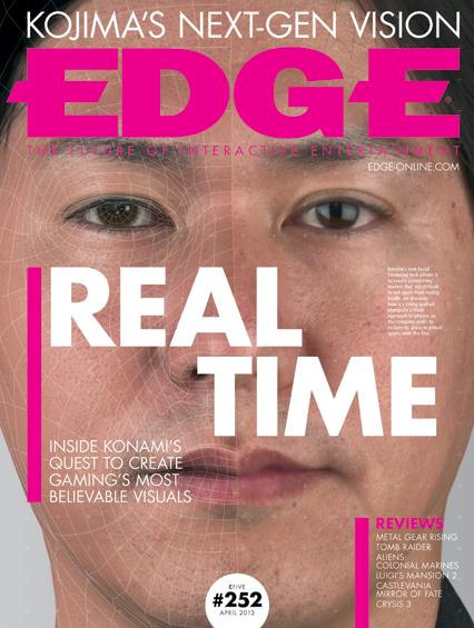 Capa da edição #252 da revista EDGE mostra jogador de PES 2014