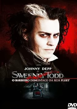 Filme Sweeney Todd O Barbeiro Demoníaco da Rua Fleet RMVB Dublado + AVI Dual Áudio + Torrent DVDRip