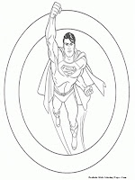 Free Printable Superman The Man Of Steel
