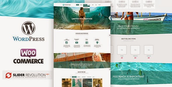 ThemeForest - OceanPlaza WooCommerce Parallax Theme WordPress