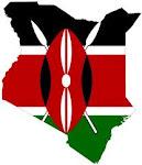 Kenya-Flag map