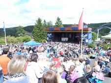 Jeg synger på PLAN Norge sin vennskapskonsert, Tusenfryd, 2012.