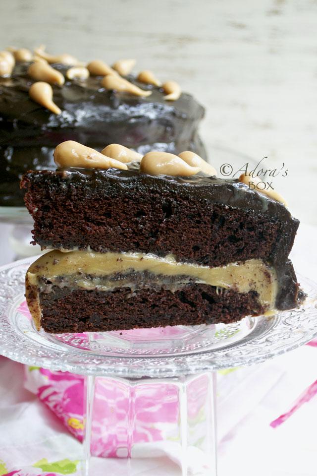 Adora S Box Chocolate Caramel Cake