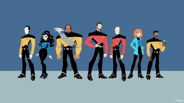 Star Trek Heroes HD Wallpaper