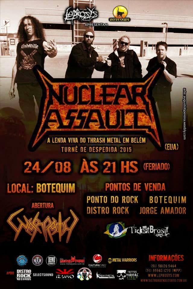 Nuclear Assault em Belém
