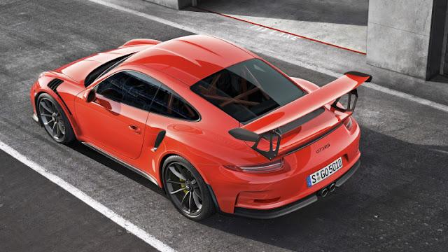 IMAGEN DEL NUEVO 911 GT3 2016