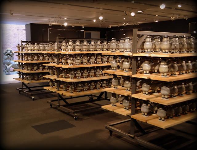 Porcelain Figurines, Mr. Nobody, Peabody Essex Museum, Salem, Massachusetts, organized