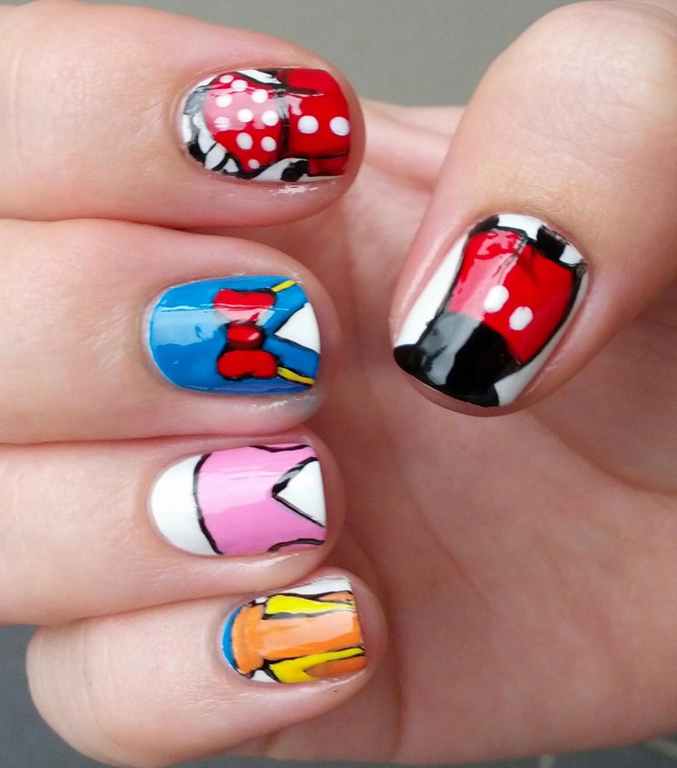 Disney Nail Designs: StephsNailss: Disney Inspired Nails