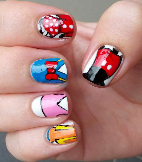 stephsnailss disney inspired nails