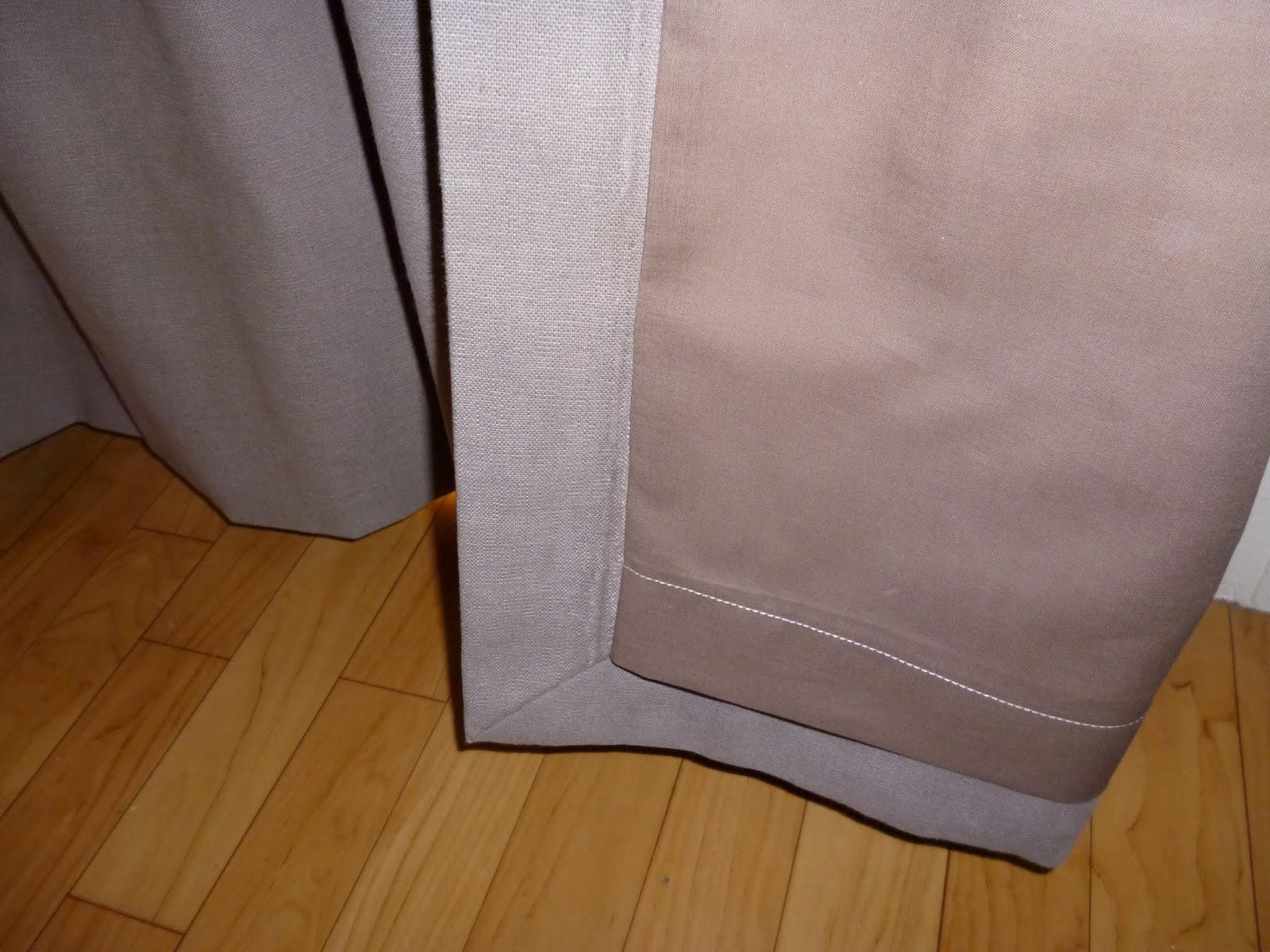 Lever de rideau sur votre int rieur f vrier 2012 - Doublure thermique rideau ...