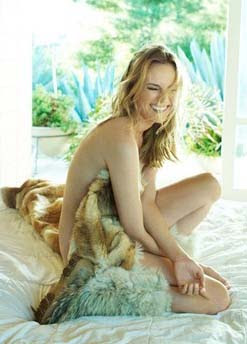 Diane Kruger poses for hot photo shoot