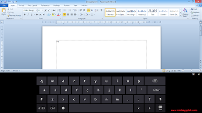 Keyboard Rusak? Sementara Gunakan Touch Keyboard untuk Mengetik
