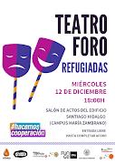 Teatro Foro REFUGIADAS
